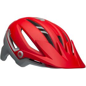 Bell Sixer MIPS - Casque de vélo - gris/rouge